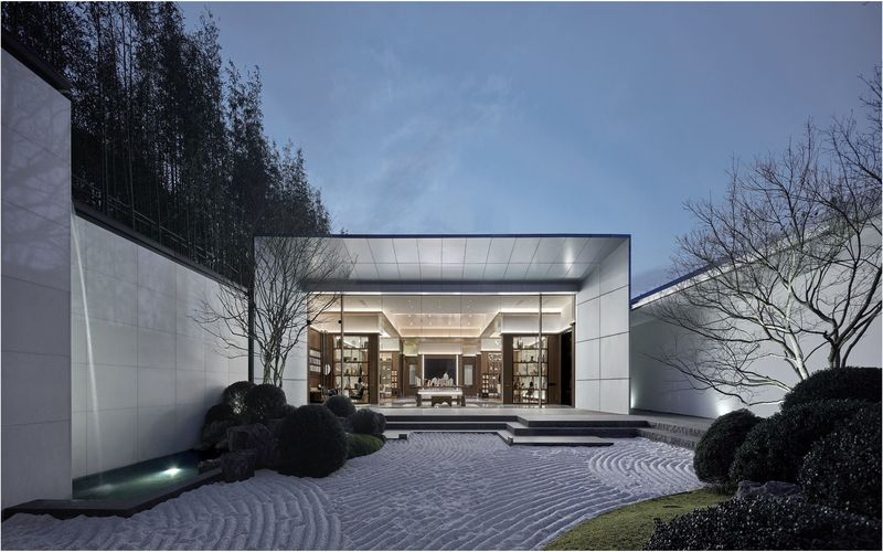 A 'Design Award: Architecture commerciale du manoir de Taizhou